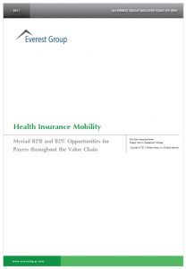 Health Insurance Mobility: Myriad of B2B and B2C Opportunities for Payers throughout the Value Chain