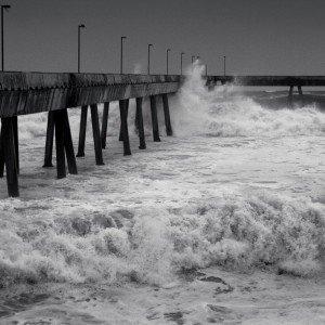 Wave Ravaged Pier