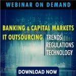 Banking and Capital Markets ITO – Trends, Regulations, Technology
