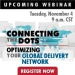 Connecting the Dots: Optimizing Your Global Delivery Network