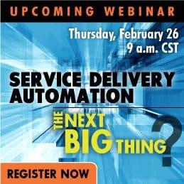 Service Delivery Automat Webinar