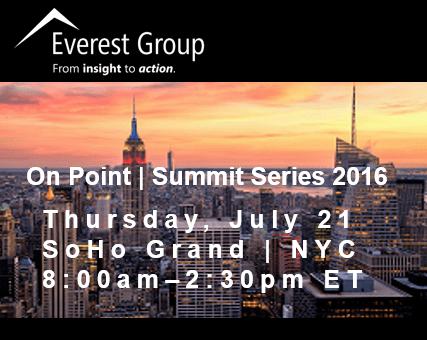 Everest Group On Point Summit Series