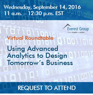 Using Advanced Analytics to Design Tomorrow's Business VRT