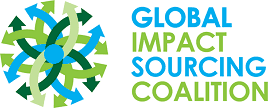 Global impact sourcing coallition logo