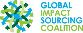 Global impact sourcing coallition logo