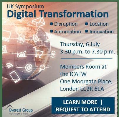 UK digital disruption event