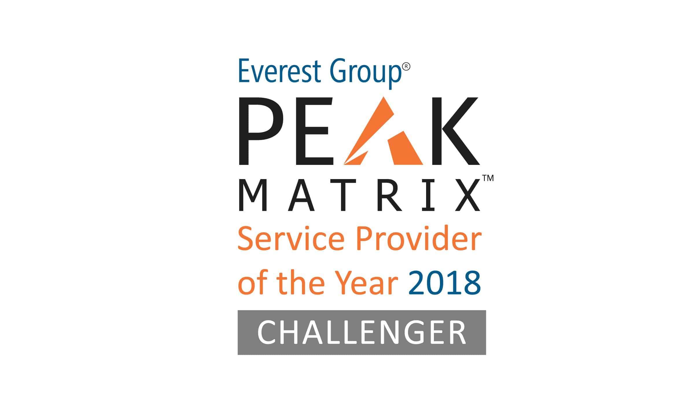 logo for PEAK Matrix SPOTY-2018 Challenger