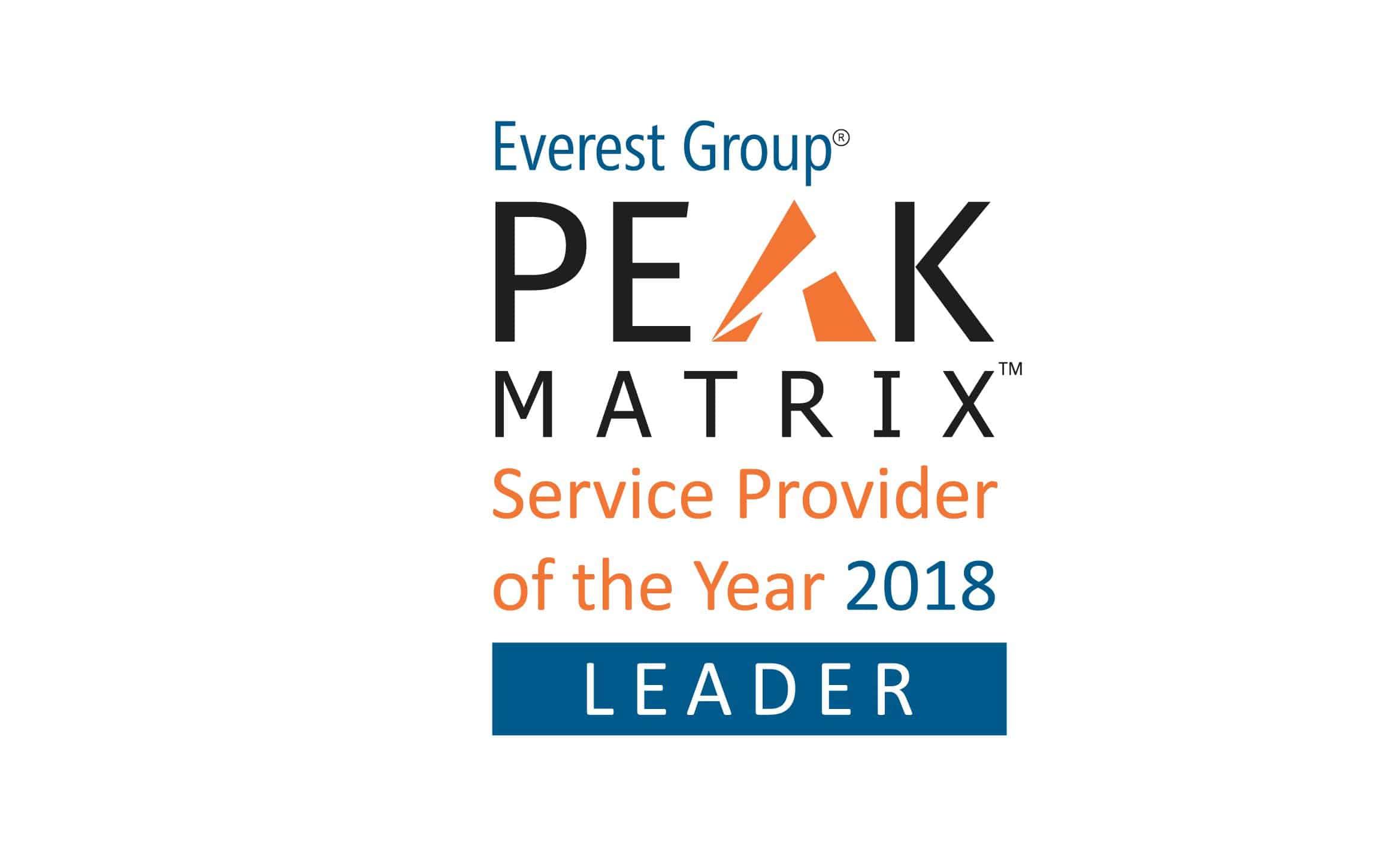 logo for PEAK Matrix SPOTY-2018 Leader