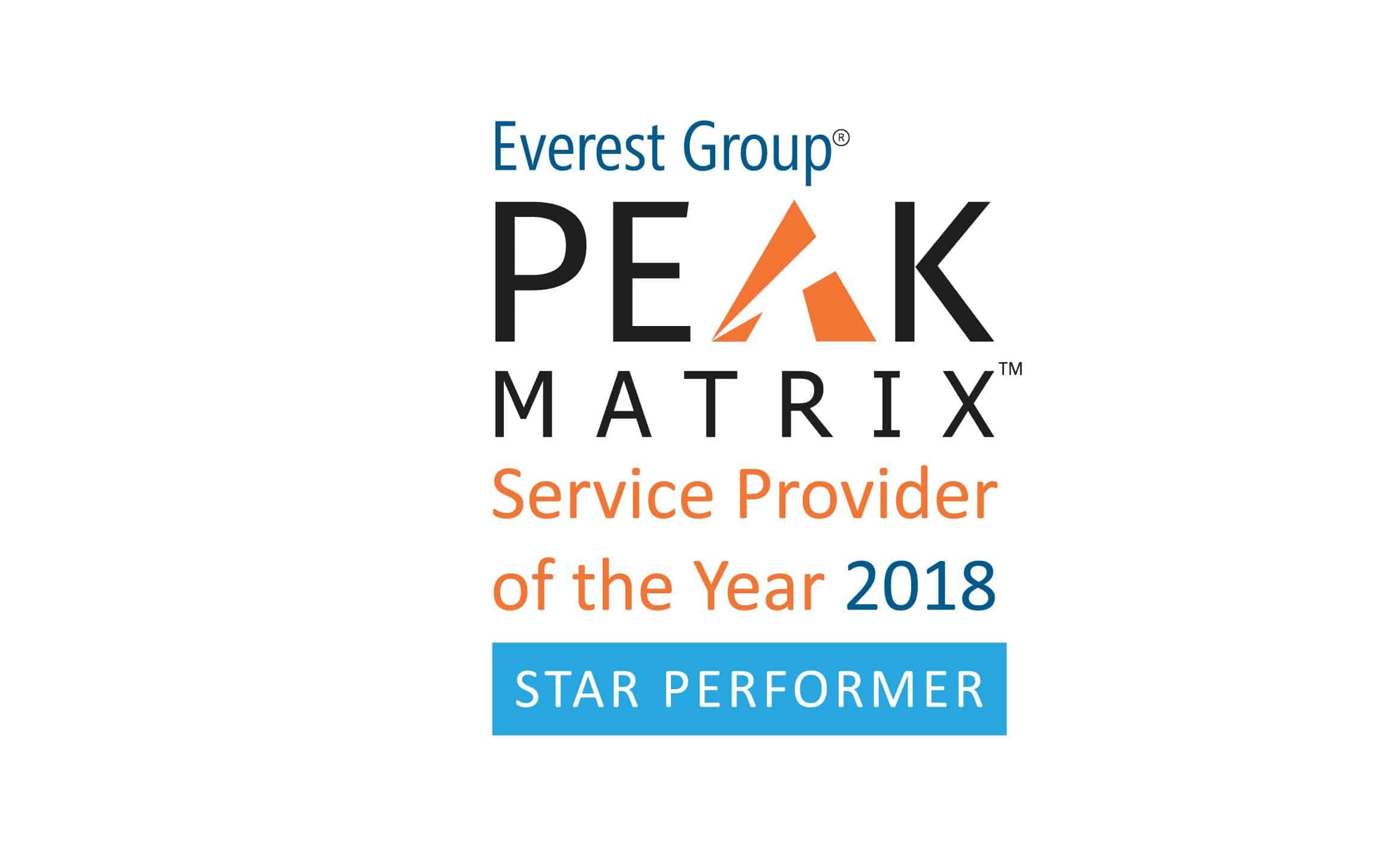 Logo for PEAK Matrix SPOTY-2018 Star performer