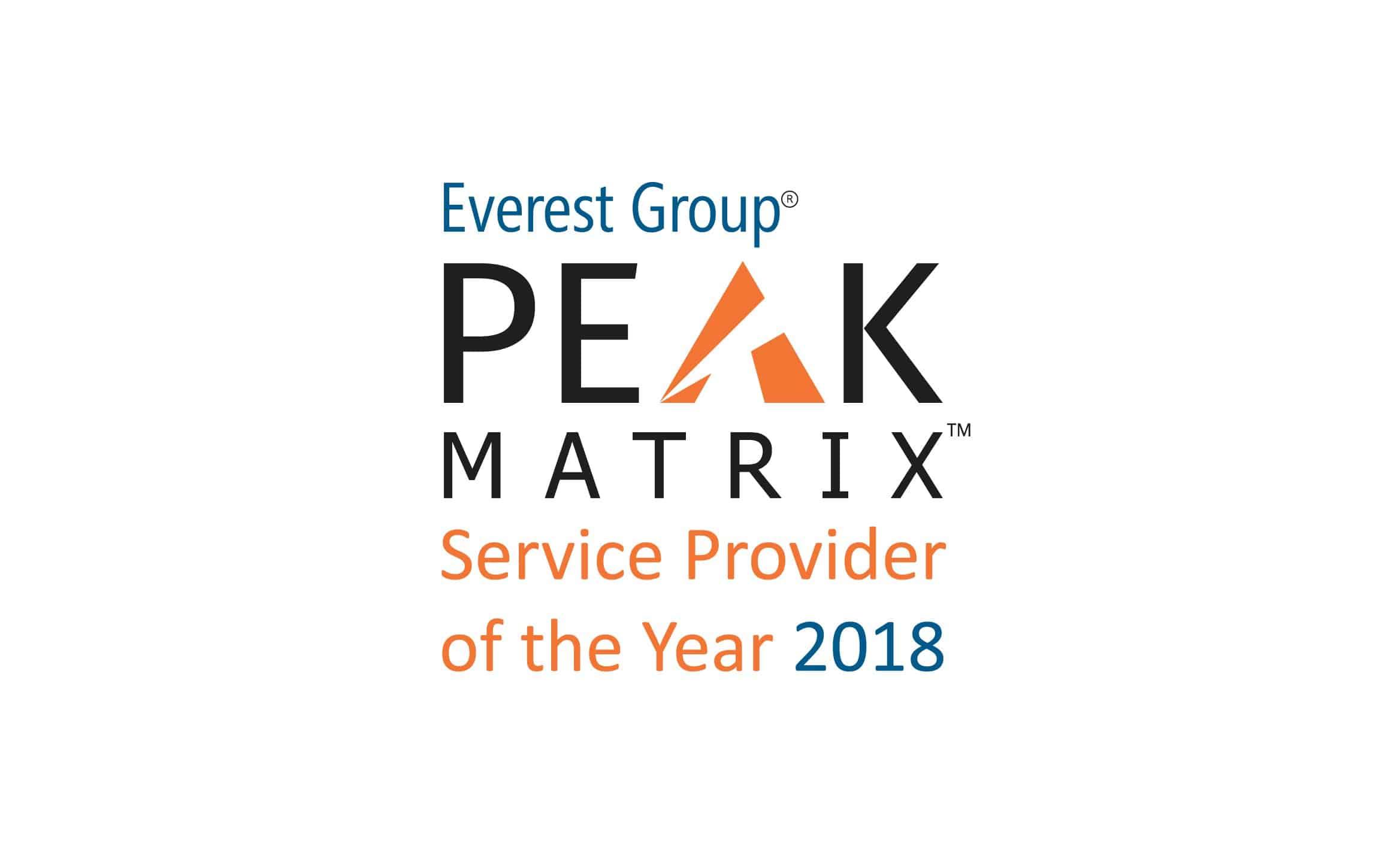 logo for PEAK Matrix SPOTY 2018