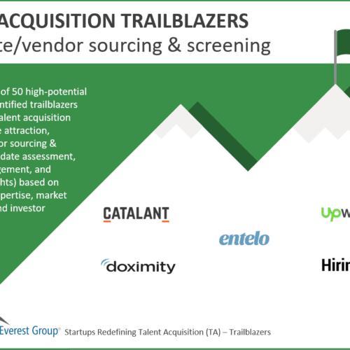 Candidate-vendor sourcing screening trailblazers