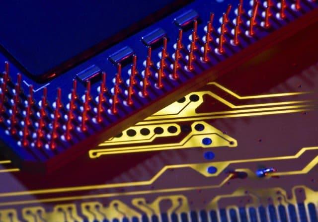 digital depiction of circuit board