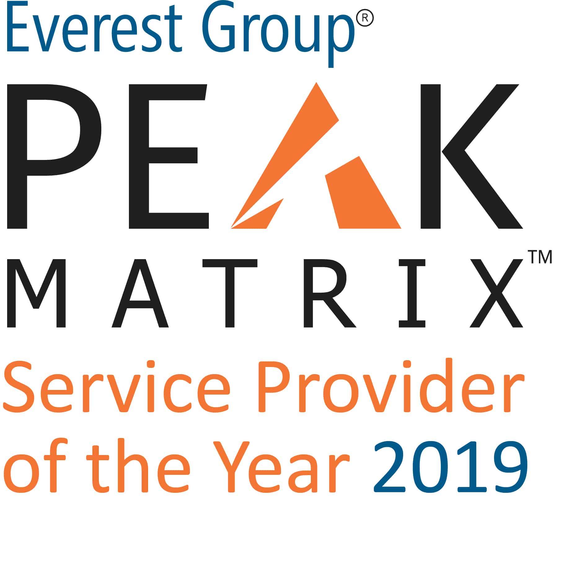 logo for PEAK Matrix SPOTY 2019