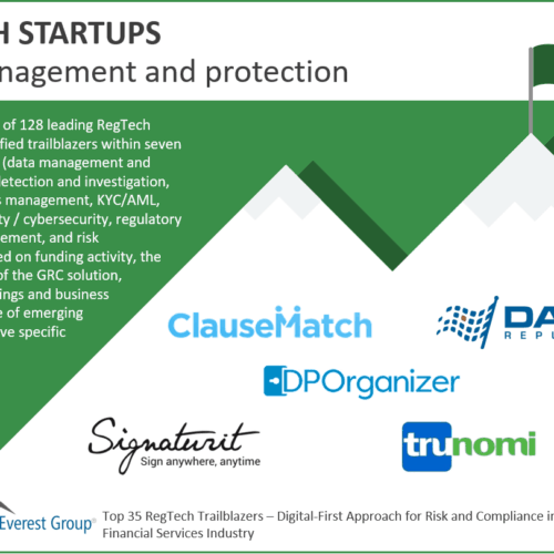 Regtech Data Management Trailblazers