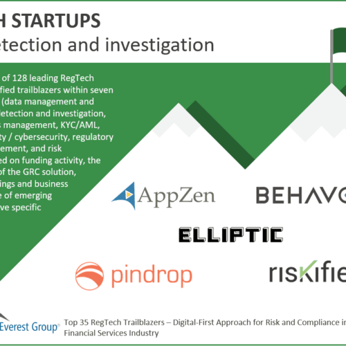 Regtech Fraud Detection and Investigation Trailblazers