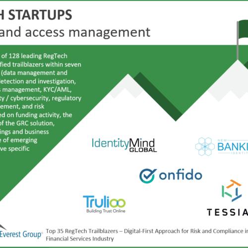 Regtech Identity & Access Management Trailblazers