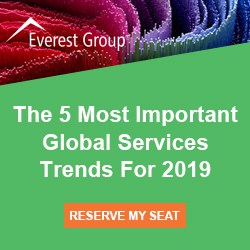 Register for our upcoming webinar, The 5 Most Important Global Services Trends For 2019