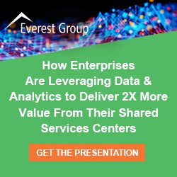 Presentation image How Enterprises Are Leveraging Data Analytics to Deliver 2X More Value from Their Shared Services Centers