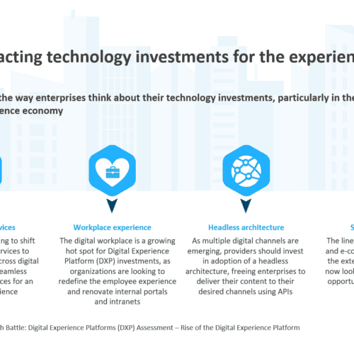 4 trends impacting technology investments for the experience economy
