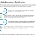 Low-Code Development Considerations