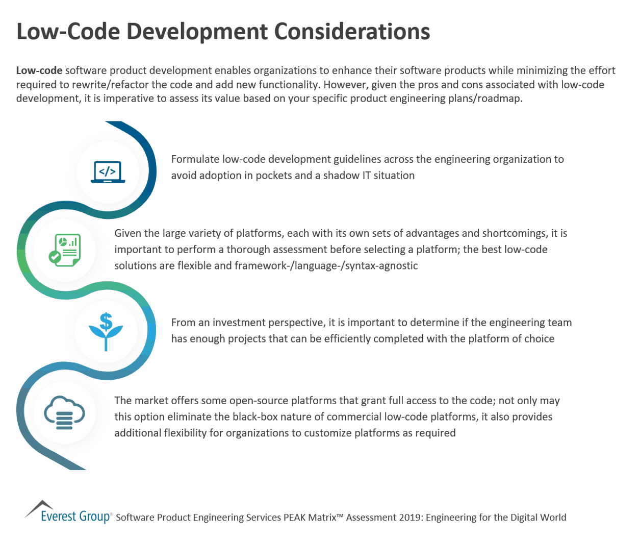 Low-Code Development Considerations