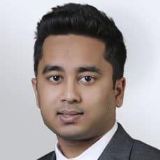 Kumar Pranav Refresh gray square