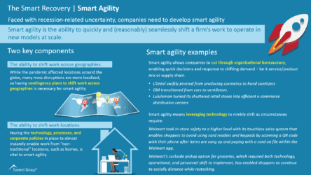 The Smart Recovery - Smart Agility