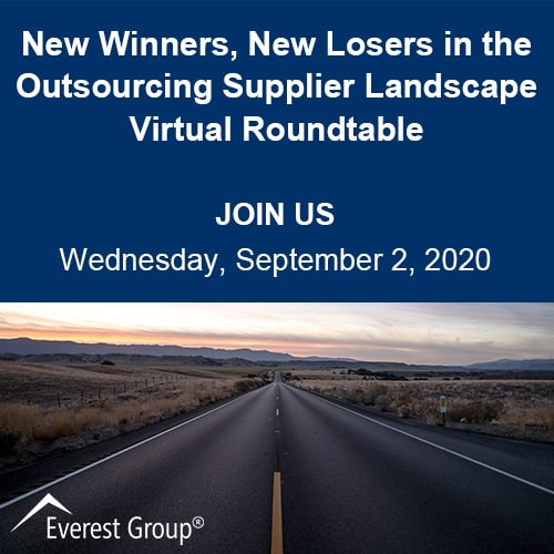 New Winners and Losers in the outsourcing supplier landscape