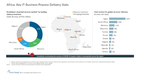 Africa Key IT-Business Process Delivery Stats