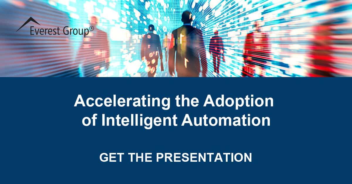 Accelerating the Adoption of Intelligent Automation Webinar