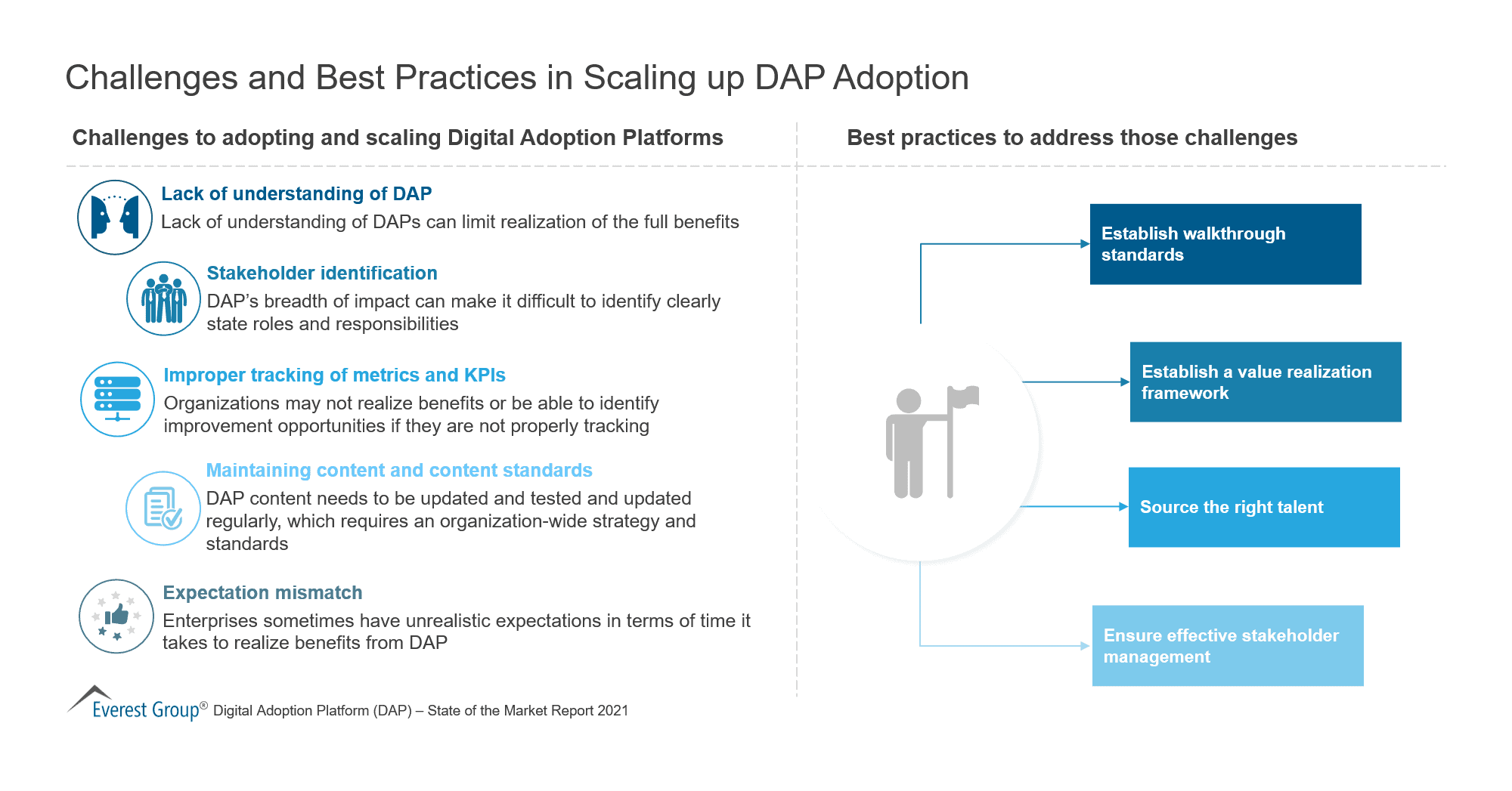 Challenges and Best Practices in Scaling up DAP Adoption