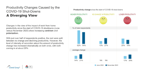Productivity Changes Caused by COVID A Diverging View Dec 2020