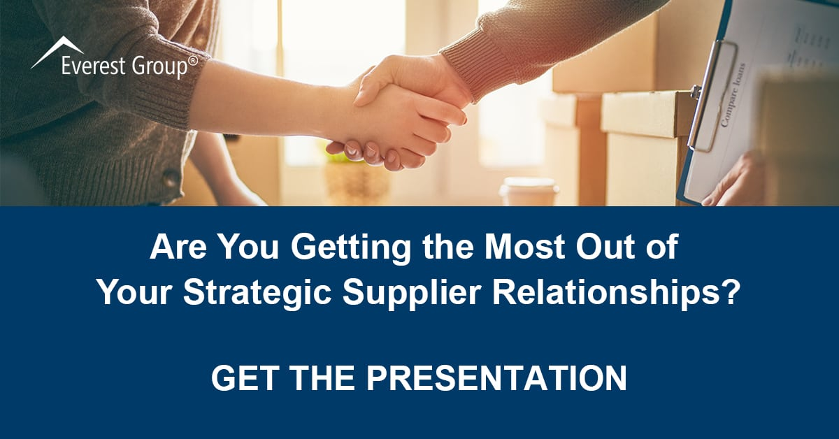 Are You Getting the Most Out of Your Strategic Supplier Relationships LinkedIn