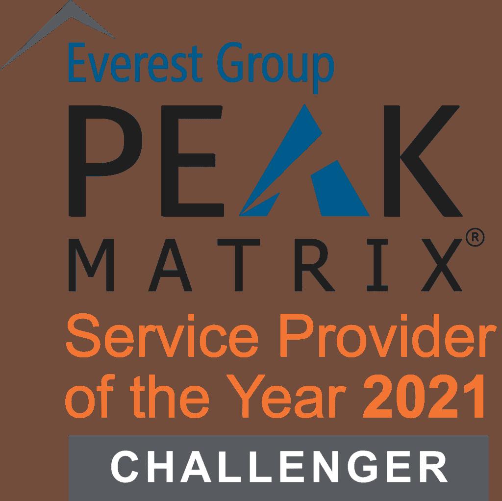 PEAK Matrix SPOTY logo 2021 Challenger
