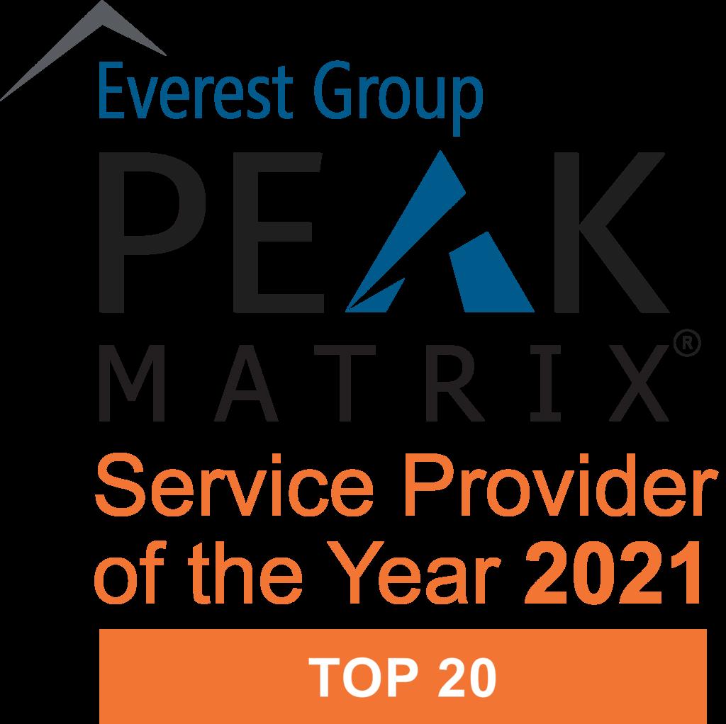 PEAK Matrix SPOTY logo 2021 Top 20