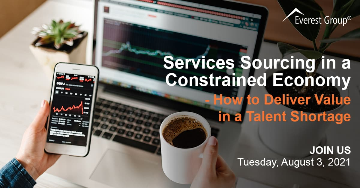 Services Sourcing in a Constrained Economy – How to Deliver Value in a Talent Shortage