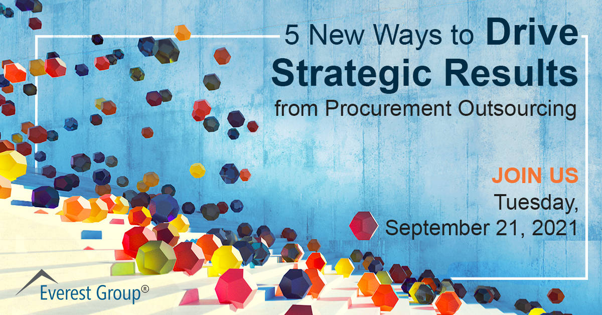 5 New Ways to Drive Strategic Results from Procurement Outsourcing