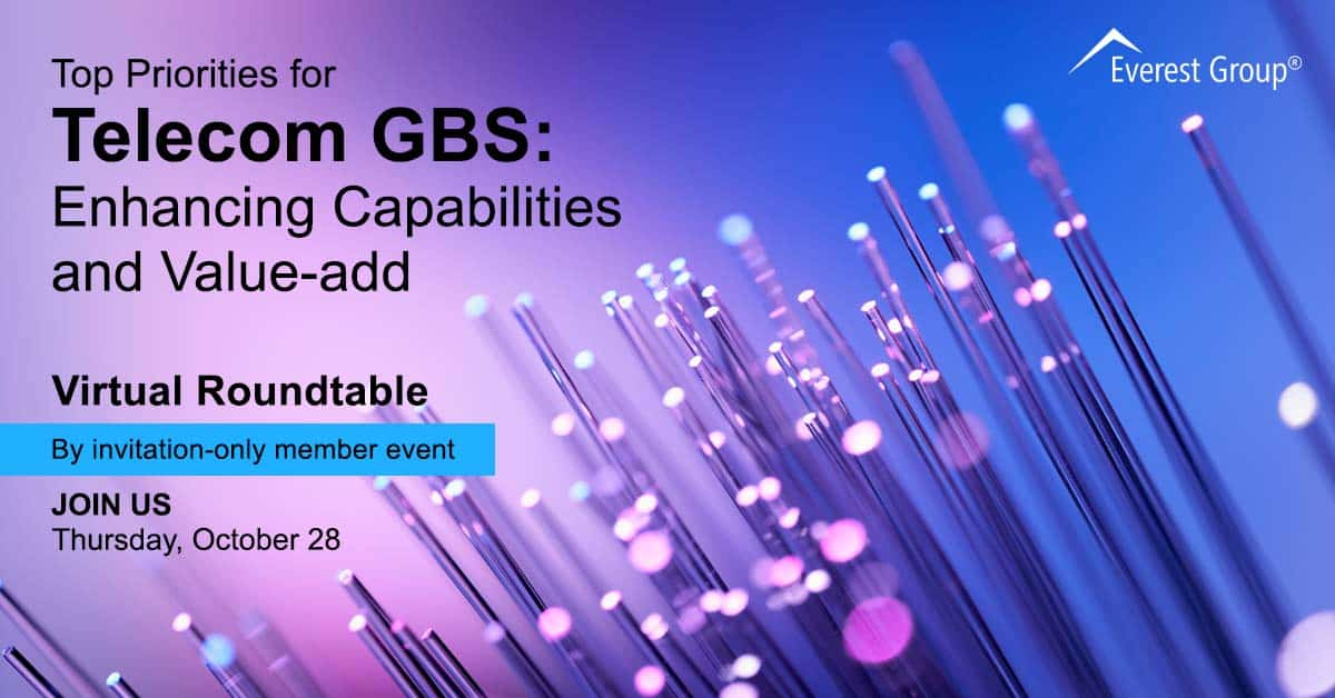 Top Priorities for Telecom GBS: Enhancing Capabilities and Value-add
