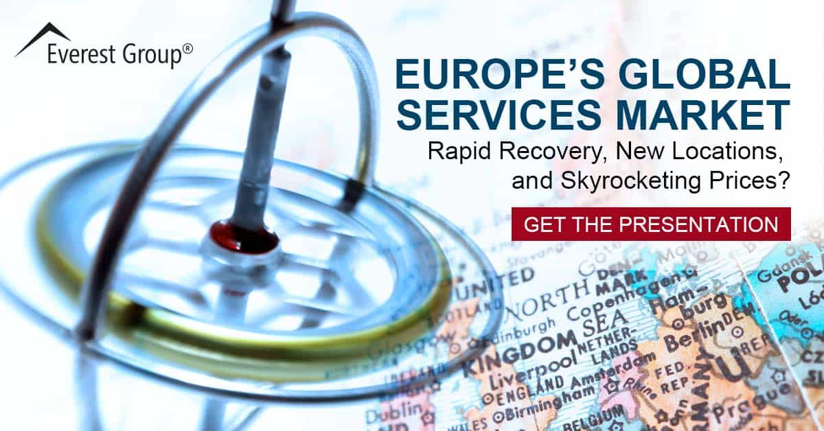 Europe's Global Services Market Rapid Recovery, New Locations, and Skyrocketing Prices