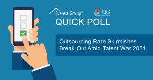 Outsourcing Rate Changes Quick Poll