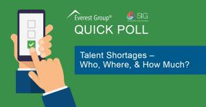 October 2021 Talent Shortages Quick Poll